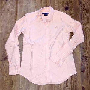 Ralph Lauren Sport Slim Fit Oxford - Peach